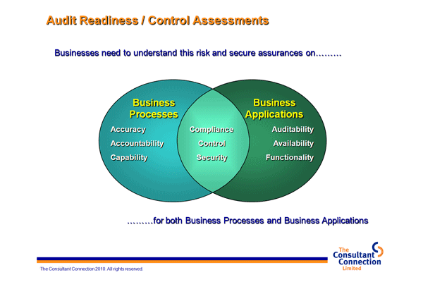 Audit Readiness & Business Controls